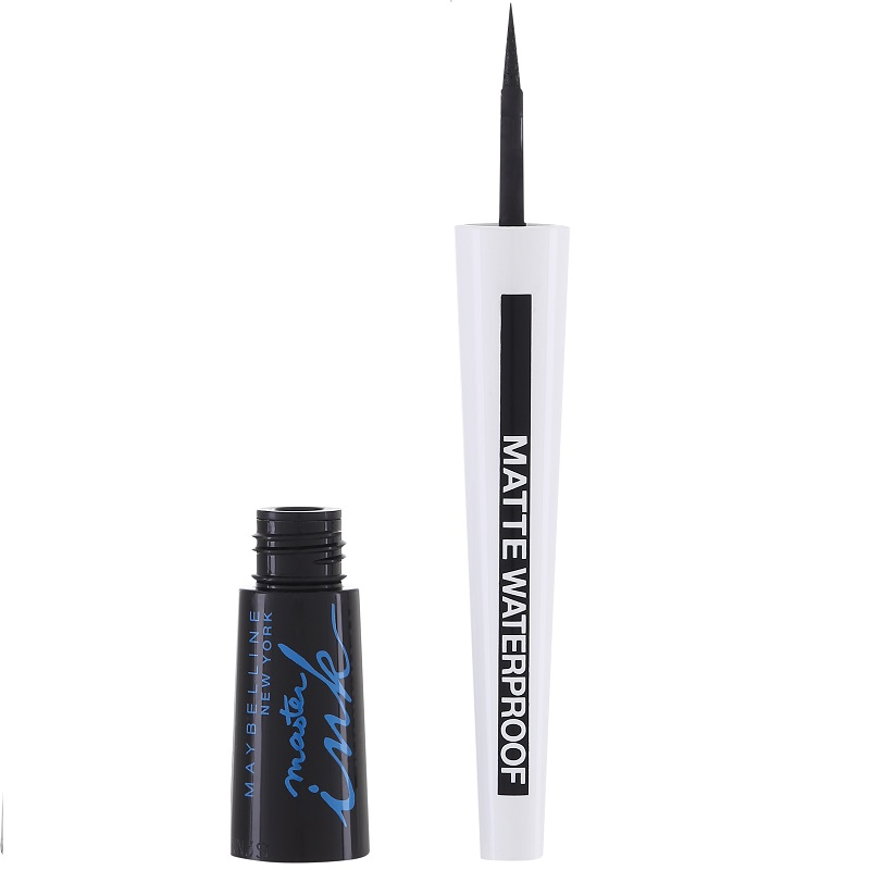 Master Ink Waterproof Eyeliner Black Matte Black