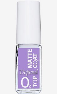 O2 Nail Polish Matte Top Coat 304 Matte Top Coat