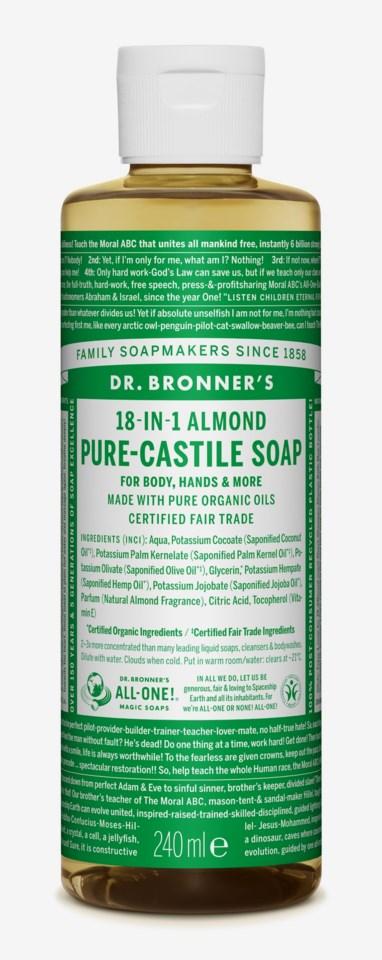 Almond Soap 236ml