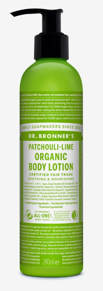 Magic Lotion for Hands & Body Patschouli Lime