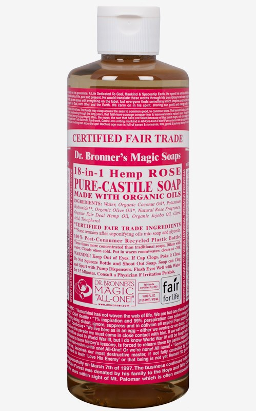 Rose Soap 236 ml