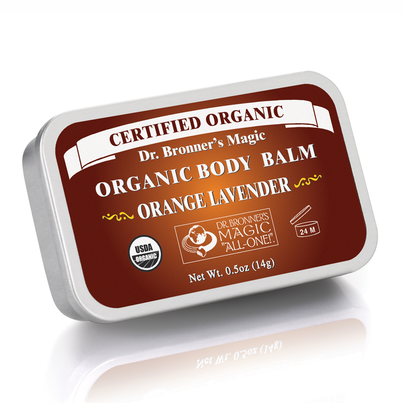 Organic Body Balm Orange Lavender Orange Lavender