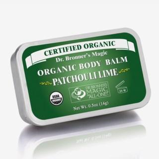Patschouli Lime Organic Body Balm