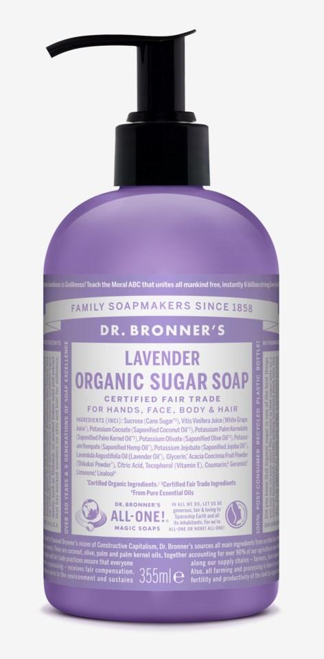 Organic Hand & Body Shikakai Soap Lavender 355ml
