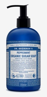 Organic Hand & Body Shikakai Soap Spearmint Peppermint 355ml