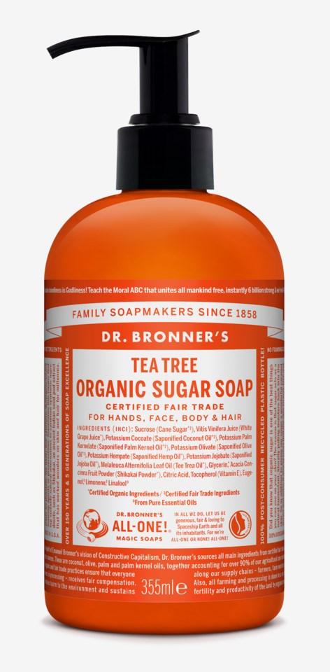 Organic Hand & Body Shikakai Soap Tea Tree 355ml