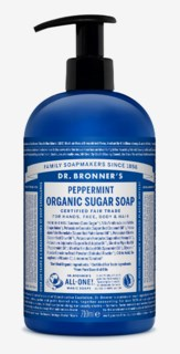 Organic Hand & Body Shikakai Soap Spearmint Peppermint 709ml