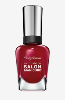 Complete Salon Manicure Red-Handed