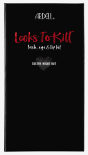 Looks To Kill Lash, Eye & Lip Kit A Sultry Night Out