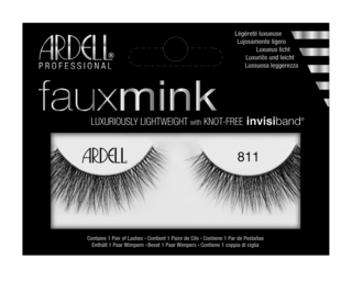 Faux Mink False Lashes 811 Black