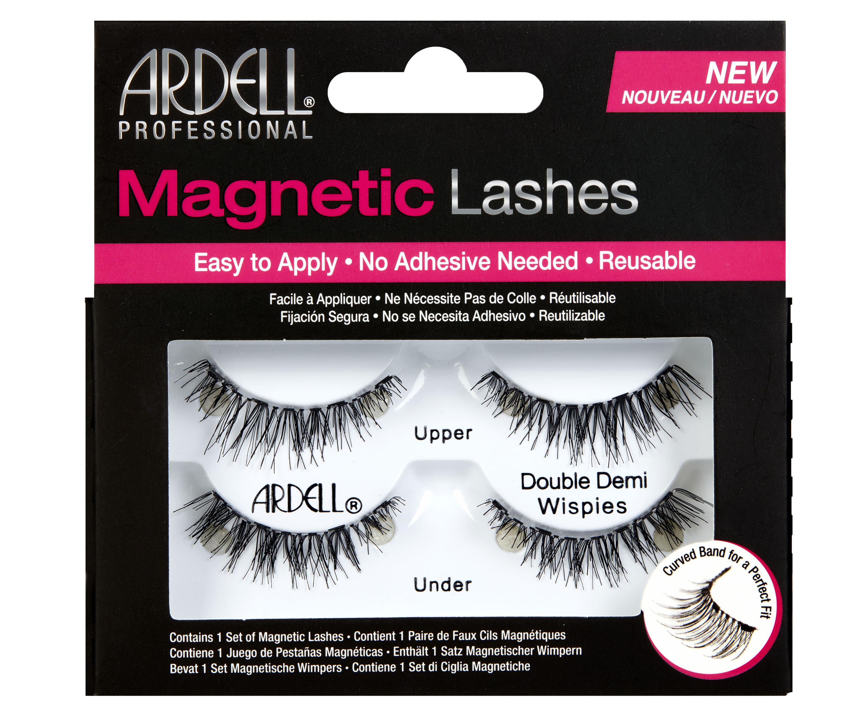 Magnetic Lash False Lashes Demi Wispies