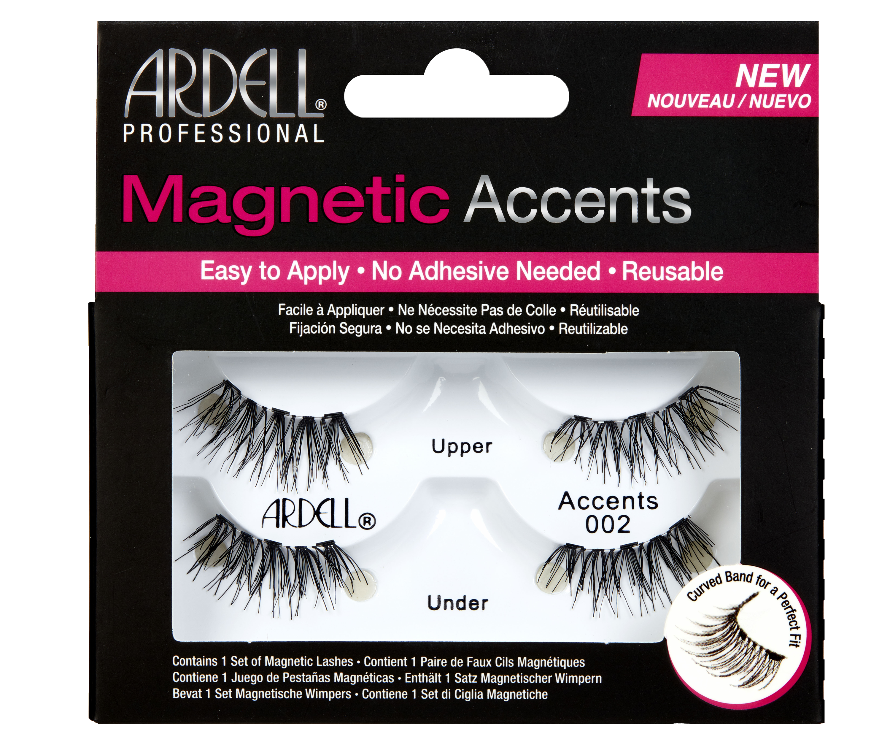 Magnetic Accents False Lashes 2