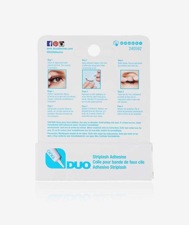 DUO Eyelash Adhesive Clear - Ardell - KICKS  52232015b5