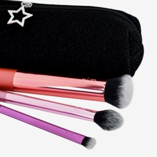 Luminous Makeup Brushes Gift Box