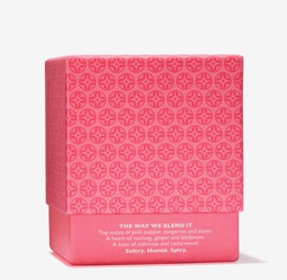 Pink Pepperpod Single Wick Candle 180g