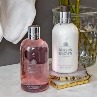Delicious Rhubarb & Rose Bath & Shower Gel 300 ml