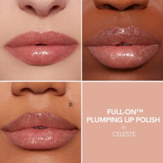 Full on Lip Polish Celeste (Prismatic soft peach )