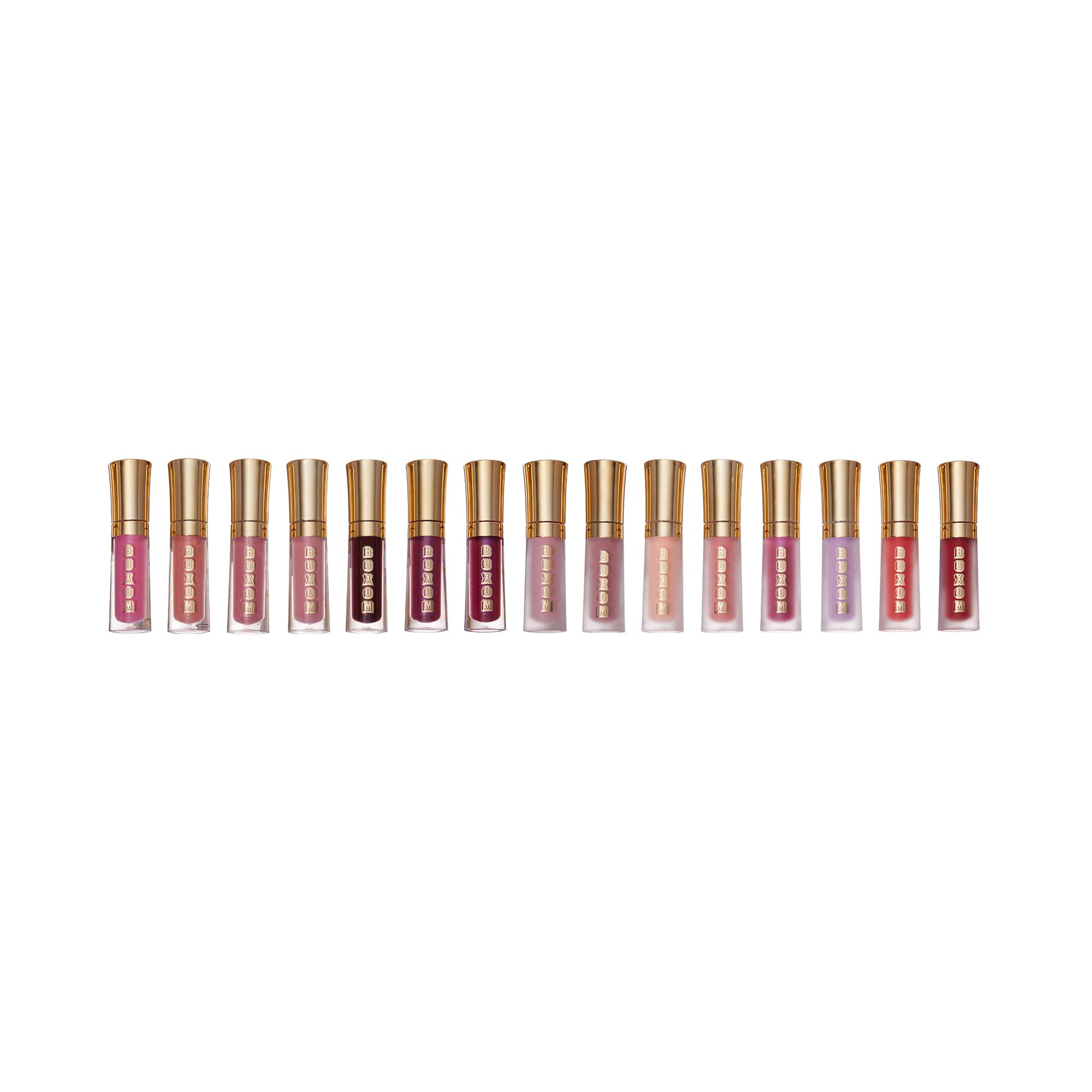 Lips off Leash Buxom 15 piece Blockbuster Lip Kit (2 ml / lipgloss )