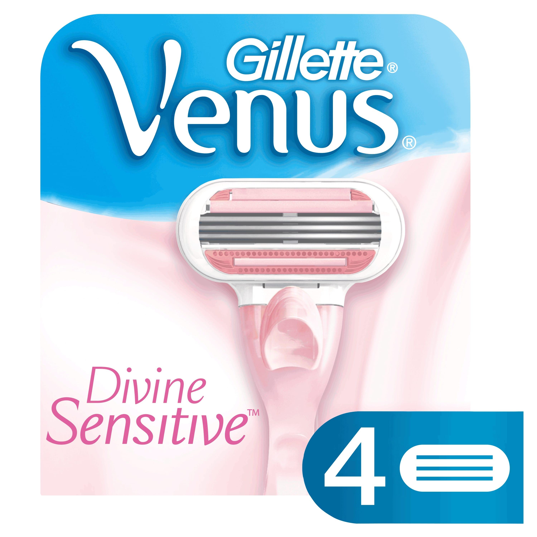 Divine Sensitive engångsrakhyvlar för kvinnor 4-pack