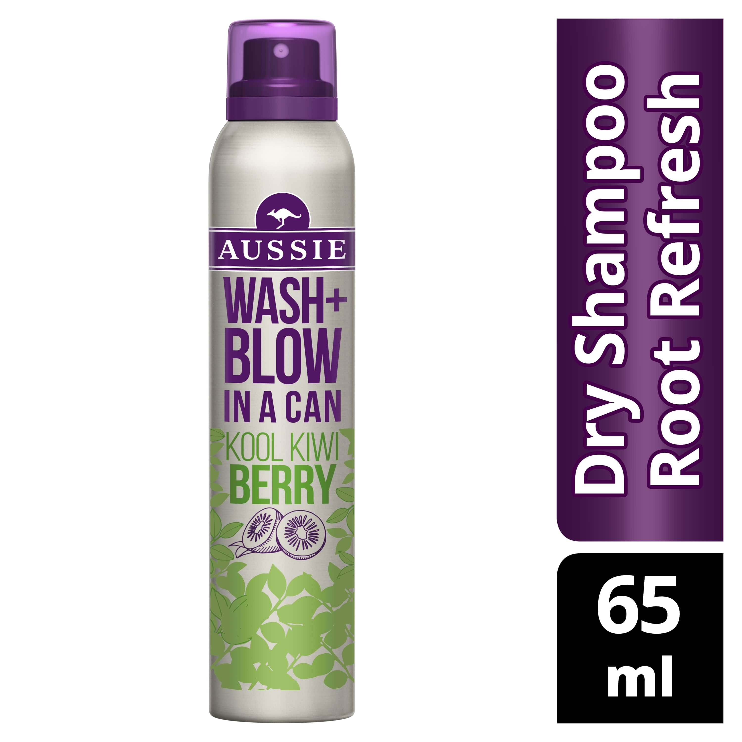 Wash + Blow Kool Kiwi Berry Torrschampo 65 ml