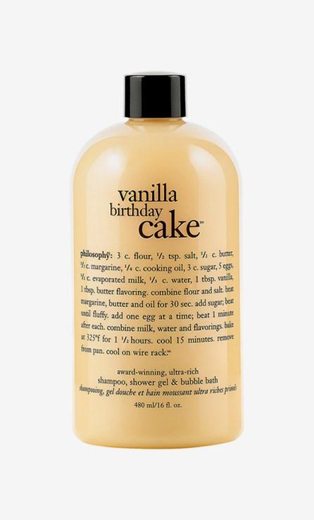 Bath & Body Shower Gel Vanilla Cake 480ml