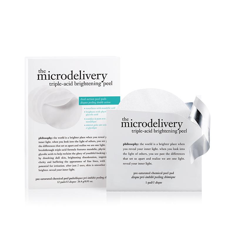 Microdelivery Triple-acid  Brightening Peel Pads 12st