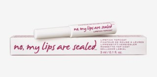 No, My Lips Are Sealed Lipstick Topcoat