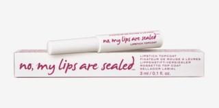 No, My Lips Are Sealed Lipstick Topcoat