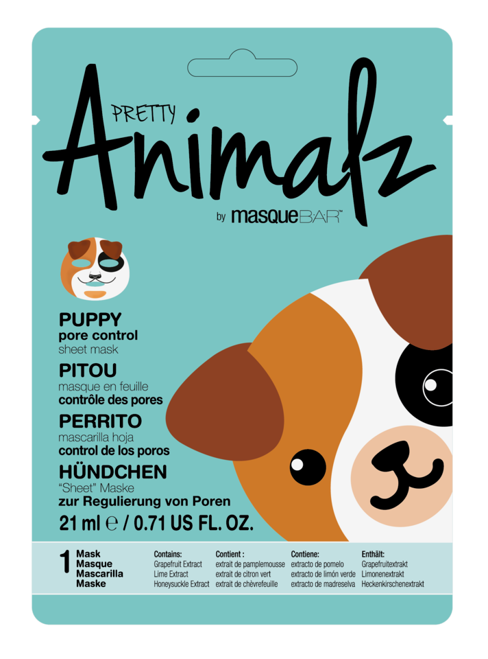 Animalz Puppy Sheet Mask 21 ml