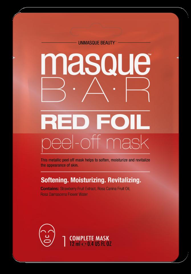 Red Foil Peel Off Mask Red Foil Metallics Peel Off Mask
