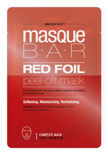 Red Foil Peel Off Mask Red Foil Metallics Peel Off Mask