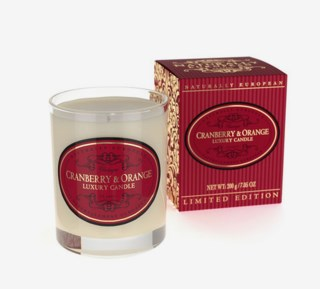 Cranberry & Orange Candle 200 g
