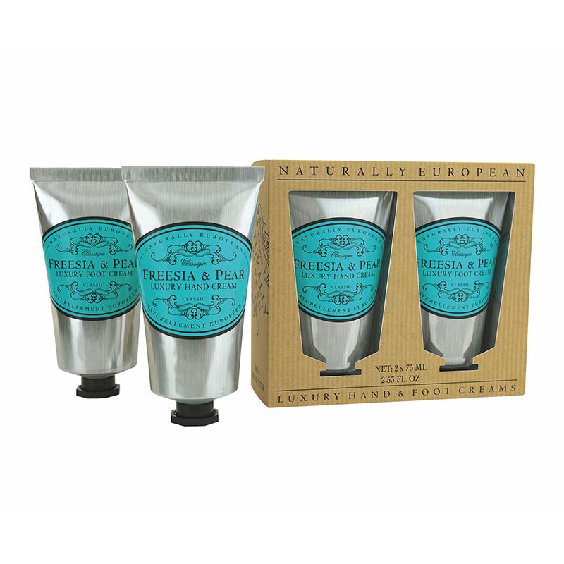 Freesia & Pear Hand / Foot Cream Set 2 x 75ml