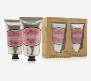 Hand / Foot Cream Set Rose Petal 2 X 75 ml