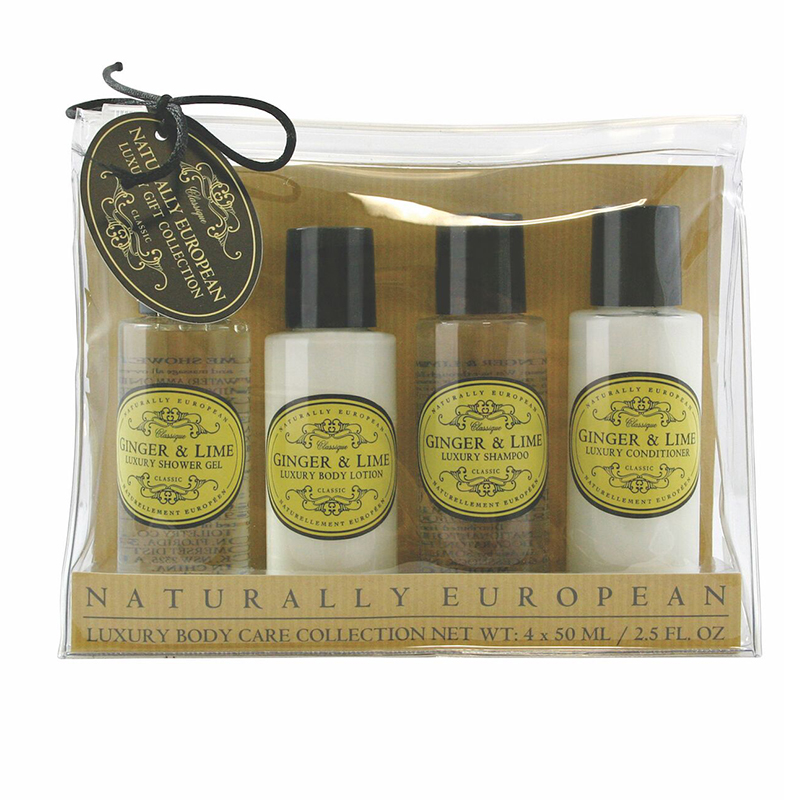 Travel / Miniset Ginger & Lime 4 X 50ml