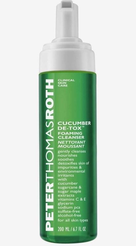 Cucumber Detox Foaming Cleanser 180ml