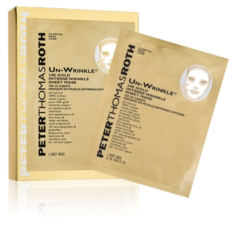 Un-Wrinkle 24k Gold Intense Wrinkle Sheet Mask 30ml