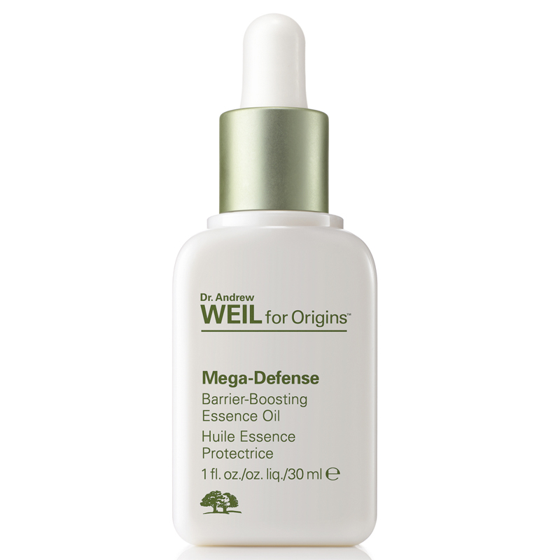 Dr. Weil Mega-Defense Barrier-boosting essence face oil