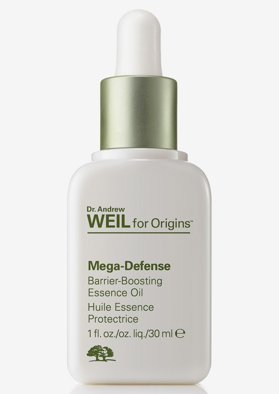 Dr  Weil Mega-Defense Barrier-boosting essence face oil