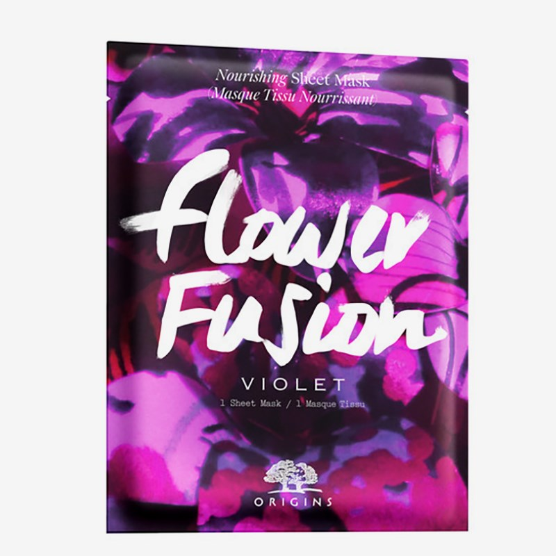 Flower Fusion Violet Nourishing Sheet Mask