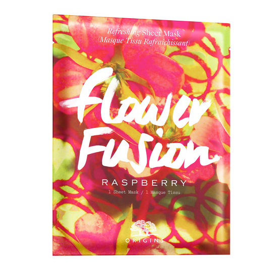 Flower Fusion Raspberry Refreshing Sheet Mask