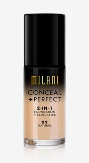 Conceal + Perfect Liquid Foundation 02 Natural