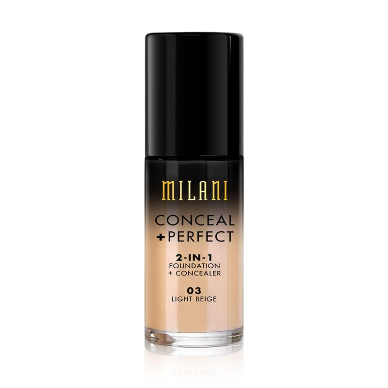 Conceal + Perfect Liquid Foundation 03 Light Beige