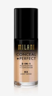 Conceal + Perfect Liquid Foundation 03 Light Beige