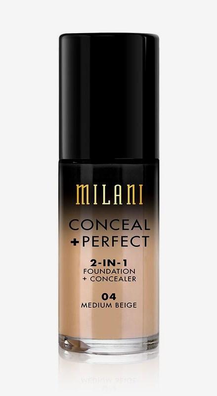 Conceal + Perfect Liquid Foundation 04 Medium Beige