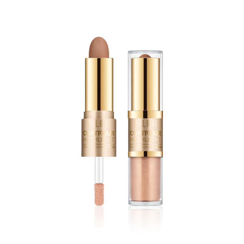Contour & Highlight Cream & Liquid Duo Natural/Medium