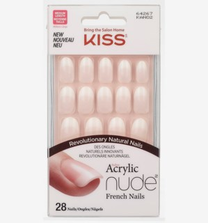 Salon Acrylic French Nails Nude 2