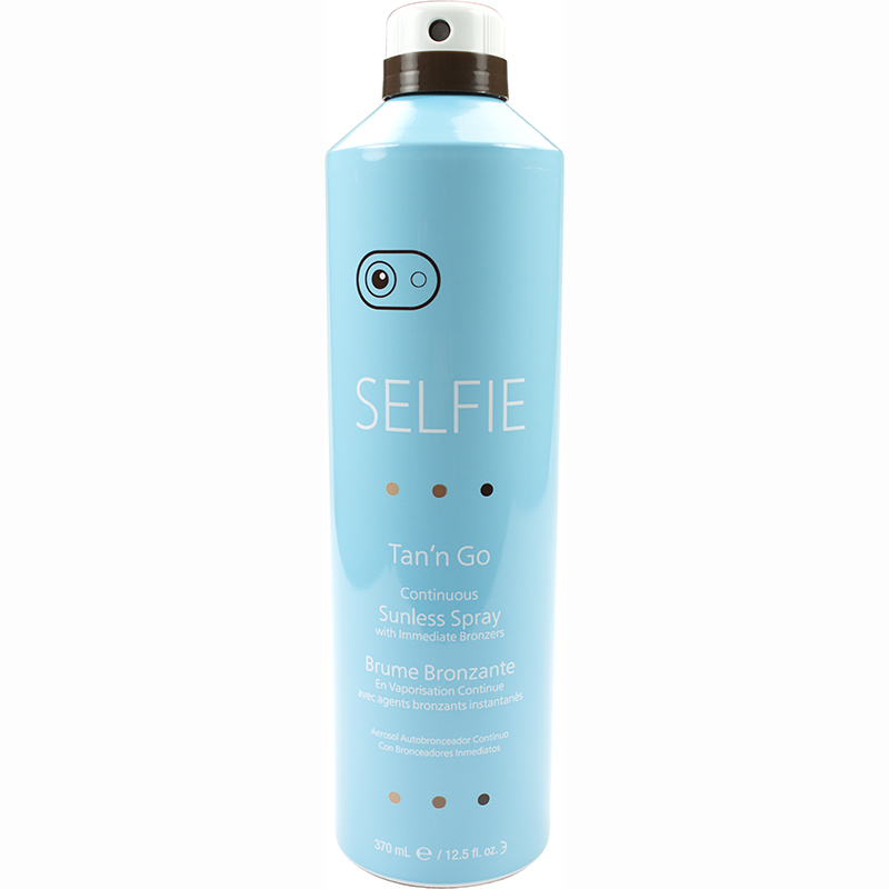 Selfie Tan'n Go Continuous Sunless Spray with Immediate Bronzers 370 ml