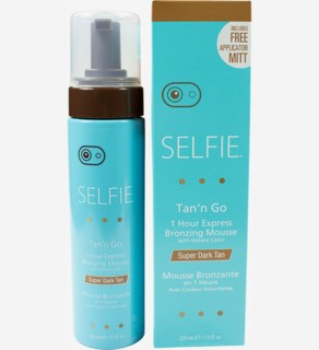 Selfie Tan'n Go Mousse-Super Dark