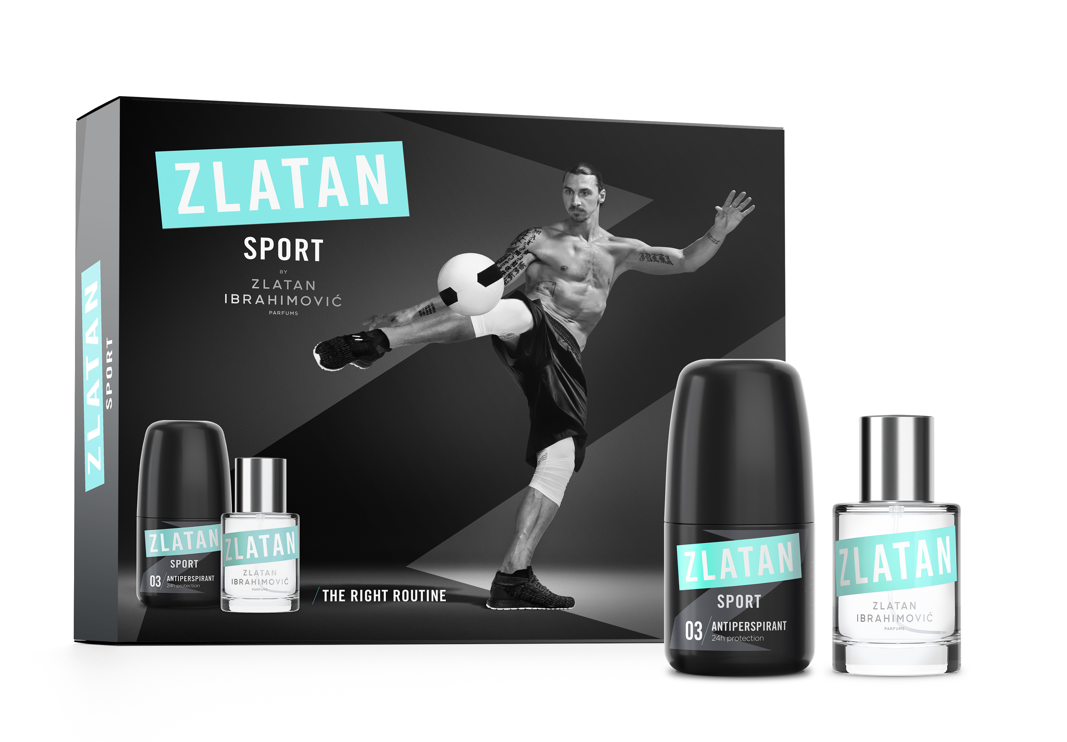 ZLATAN Sport Pour Homme Giftbox